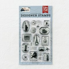 Clear Stamps - Travel Stamps