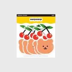 Dot cherry bear(커팅 스티커)_(1580647)