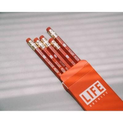라이프 육각지우개 연필세트 HB (5개입)