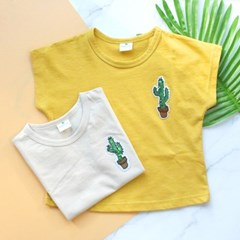 [마미버드] 선인장티셔츠 (2color)