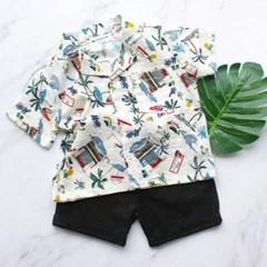 [마미버드] 말리부셔츠 (화이트)