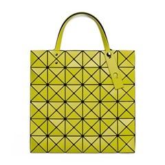 바오바오 LUCENT MATTE-2 Lime Yellow 토트백 미디움_(1434708)