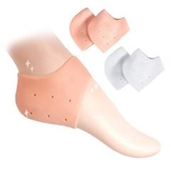 실리콘 풋패드 보습 쿠션 발 뒤꿈치 보호 각질 덧신