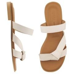 SPUR[스퍼] 뮬 PS9045 Ribbon slippers 아이보리