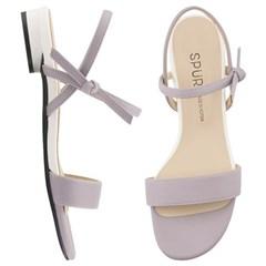 SPUR[스퍼] 샌들 PS7046 Ribbon strap sandal 라벤더