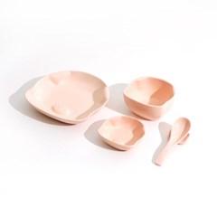 핑크돼지냄비 꿀꿀접시세트 뚝배기 접시그릇_(385051)
