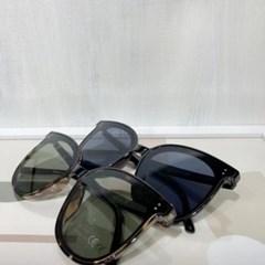블랙 호피 UV400 가벼운 패션 불테 선글라스