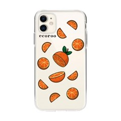 과일 조각난 오렌지 아이폰 케이스_(2804247)