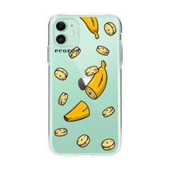 과일 조각난 바나나 아이폰 케이스_(2804246)