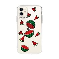 과일 조각난 수박 아이폰 케이스_(2804245)