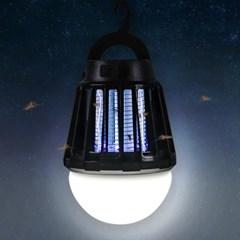어반 LED 캠핑 랜턴 모기퇴치기 블랙_(1589905)