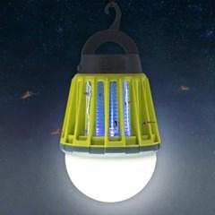어반 LED 캠핑 랜턴 모기퇴치기 그린_(1589904)