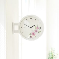Morden Double Clock Flower(WH)_(1942784)