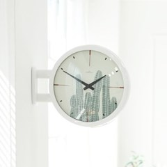 Morden Double Clock Cactus(WH)_(1942781)