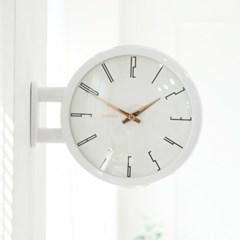 Morden Double Clock A7(WH)_(1942779)