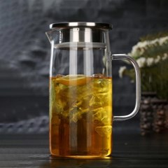 [로하티]라임글라스 유리 물병(850ml)