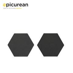 에피큐리언 핵사곤 플레이트 소 슬레이트 020-0908hex02_(278012)