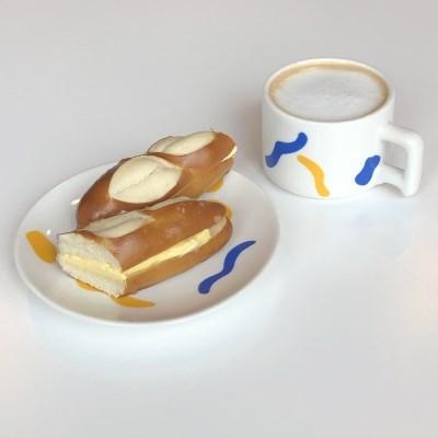 도형 접시 컵