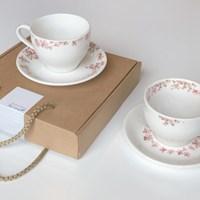 벚꽃 컵/ 컵받침 세트(생일선물/집들이선물