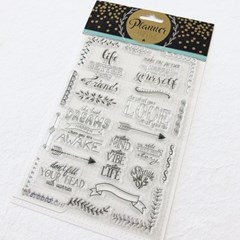 Planner Journal Clear Stamp 3