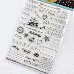 Planner Journal Clear Stamp 2