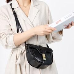 무지문 미니 크로스백 여성 가죽 가방 숄더백 핸드백 LAELME-SC