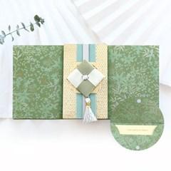 녹두빛조각보봉투 FB226-4
