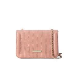 camellia cross bag (crocopink) - D1008CPK