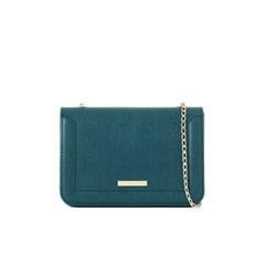 camellia cross bag (bluegreen) - D1008BG