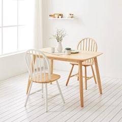 가구데코 스위트 내추럴 1280 테이블+의자 2개 NE0132