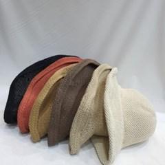 말림 여성 패션 데일리 챙긴 버킷햇 벙거지 모자