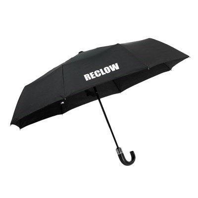 RECLOW 곡자 고급 전자동 3단우산 BLACK