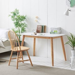 가구데코 플랜 HPL 화이트 1280 테이블+의자 1개 NE0150