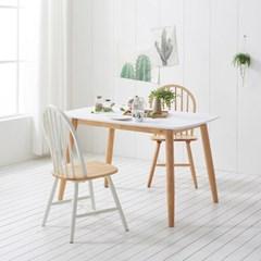 가구데코 플랜 HPL 화이트 1280 테이블+의자 2개 NE0151