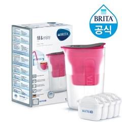 브리타 펀 1.5L 핑크 +필터 5개월분 (기본구성 필터포함)