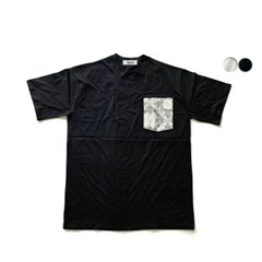 에스닉 포켓 티셔츠 ETHNIC POKET TSHIRT(2color)