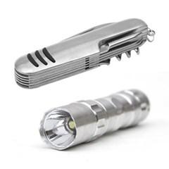 멀티툴 LED 후레쉬세트