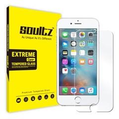 솔츠 아이폰 6 풀커버 강화유리 방탄 액정보호필름