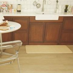 린넨 네이쳐 PVC 양면 쿠션 주방매트(소형/75x44)_(11580765)
