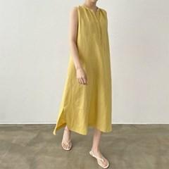 Linen Cotton Jay Long Dress