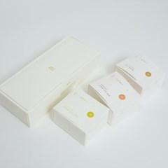 [다도레] 유기농 순수잎차 티백 3종세트 (녹차/홍차/호지차)