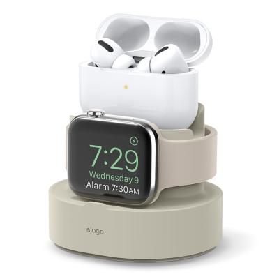 엘라고 아이폰 에어팟프로 애플워치 3IN1 미니 충전스탠드