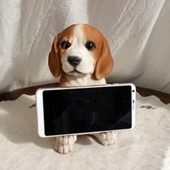강아지 핸드폰 거치대 비글