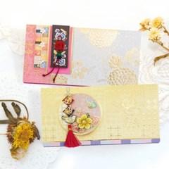 꽃채움조각보봉투 FB225-56