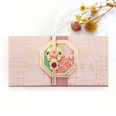 장미창문조각보봉투 FB225-3