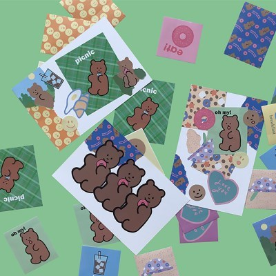 [뮤즈무드] our morning muse mood sticker pack