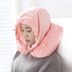 [보타디자인] 초극세사 에어 후드 목베개