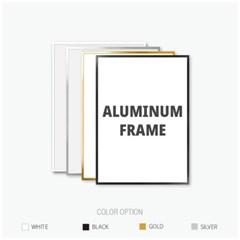 알루미늄 프레임 액자 다양한 사이즈 모음
