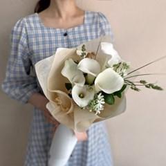[생화] 카라 칼라 Calla 백합 꽃다발 (택배불가능)
