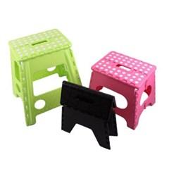 다용도 휴대용 접이식 의자 소형 1개(색상랜덤)